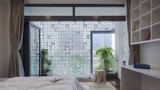 Thiết kế nhà bằng gạch bông gió không khiến bạn thất vọng